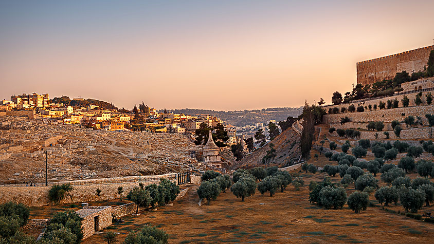 Wonders Of Israel: The Mount of Olives